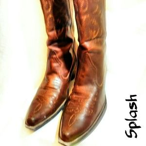 Splash size 7 cowgirl boots